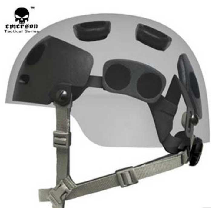 Tactical Helmet OPS Security System Seismic Adjustable DIAL Liner Ki