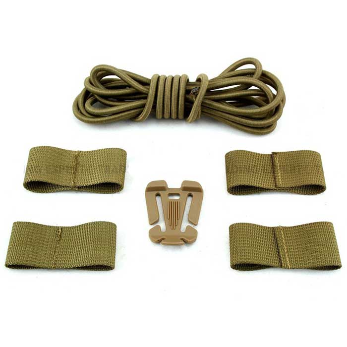 Sport Cable Helmet System Special Rope Helmet DIY Deck Set TAN