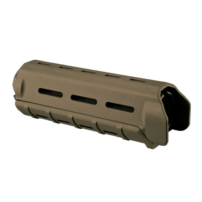 MOE 9 inch Handguard Quad Rail System Over Stock AR15/M16 TAN