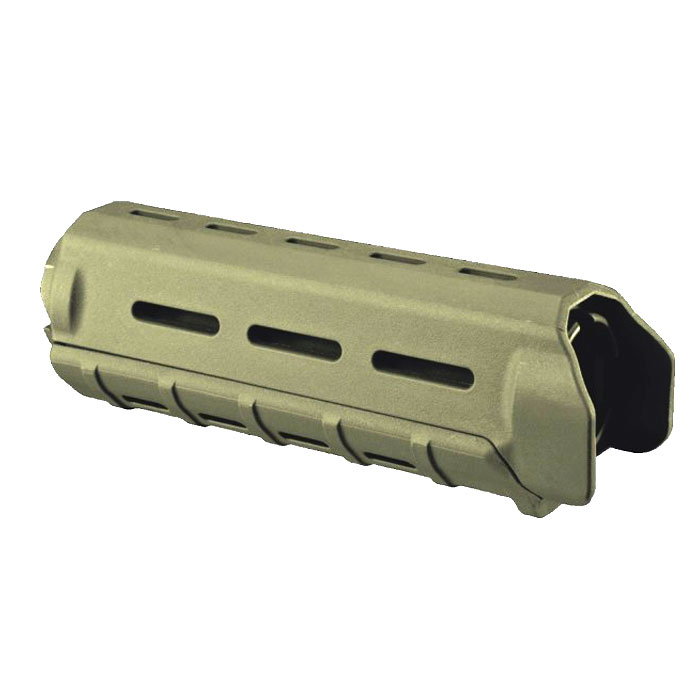 MOE 9 inch Handguard Quad Rail System Over Stock AR15/M16 GREEN