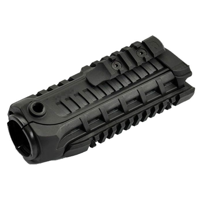 M4S1 Handguard with Extra Rail Tactical System BLACK