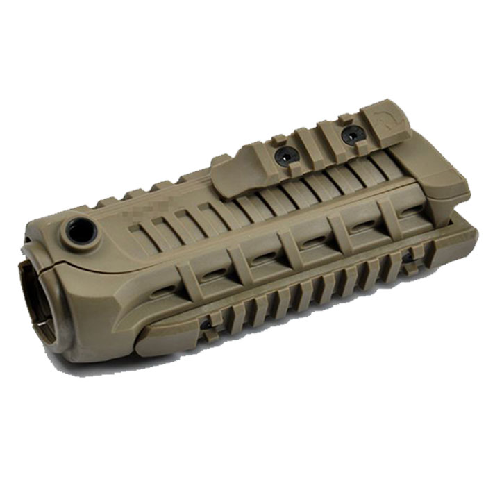 M4S1 Handguard with Extra Rail Tactical System TAN