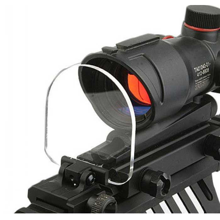 Foldable Lens Protective Tactical Durable Len Cover for Scope Dot BK