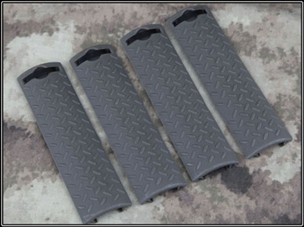 Airsoft Tactical ERGO Diamond Plate Rail Cover GREEN