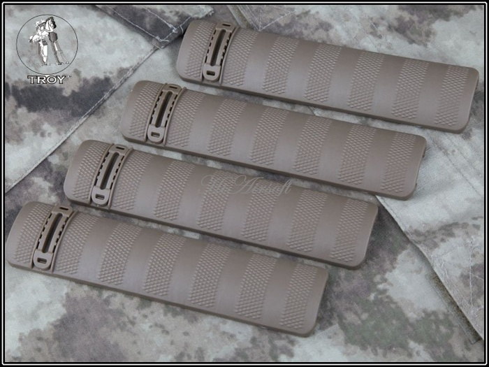 Airsoft Tactical Troy Rail Covers
