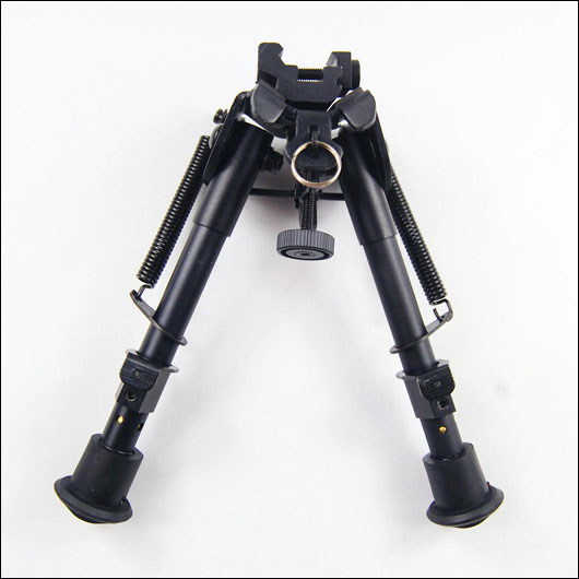 Tactical Bench Rest Hunting Bipod 6 Parts