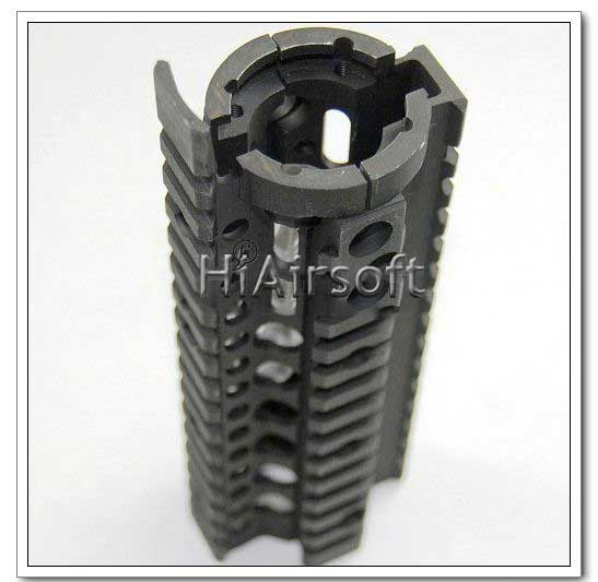 Omega 7 inch Hand Guard Rail System Black Parts