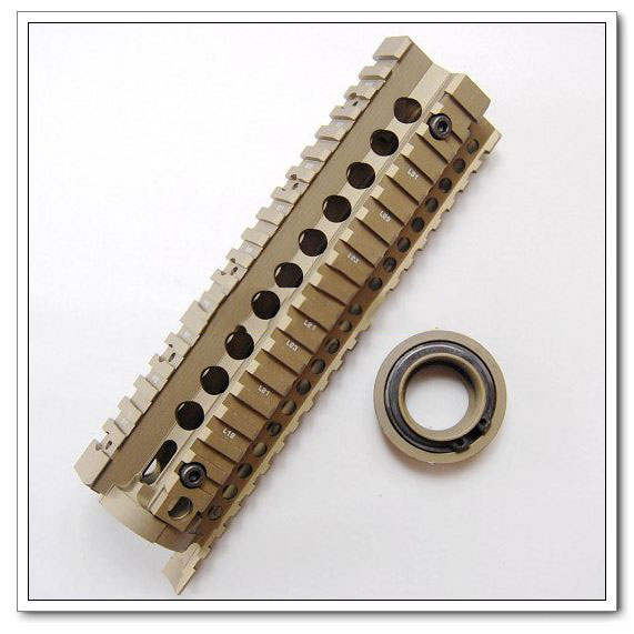 MK18 7.5 inch Handguard Rail System Brown Parts