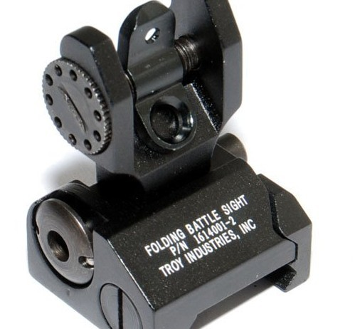 Troy Rear Folding Battlesight EX 062 Tactical Parts