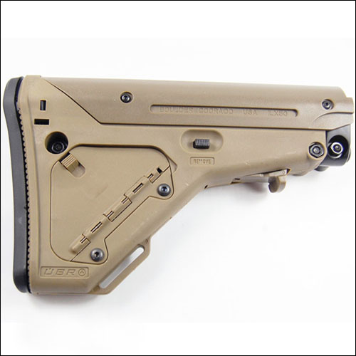 MP UBR Collapsible Tactical Stock Dark Earth