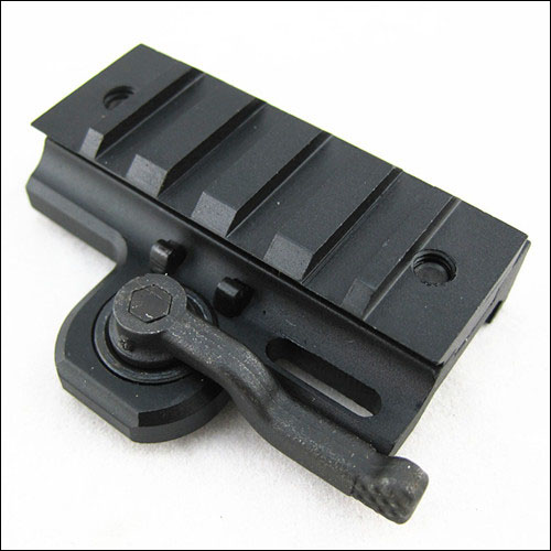 Quick Release Tactical Rail 20mm Extension Mount