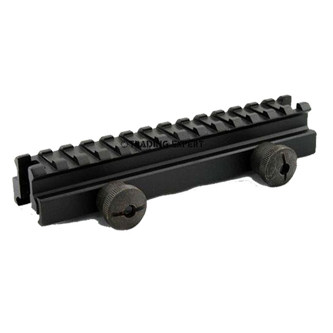 Weaver rail system 5 inch low profile raiser mount