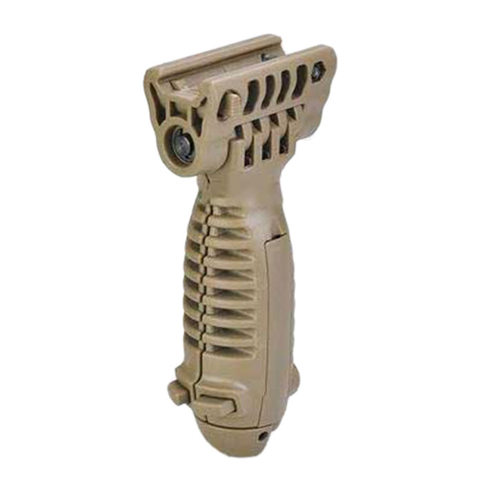 Tactical Vertical G1 Light Holder Front ForeGrip Grip Bipod Tan