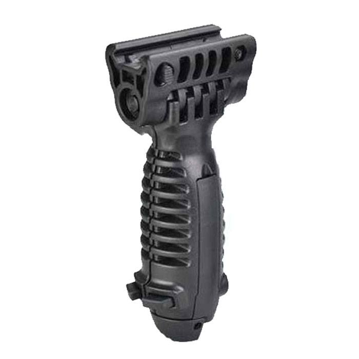 Tactical Vertical G1 Light Holder Front ForeGrip Grip Bipod Black