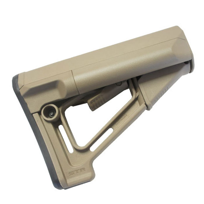MP STR Carbine Stock for M4/M16 Airsoft Rifle (DE)