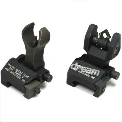 Front and Rear Di-Optic Aperture/shining BattleSight(TRS-5)