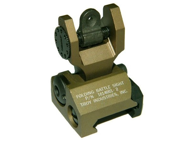 Troy Front and Rear sight