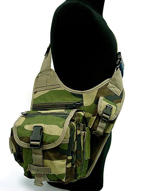 Military Tactical Man SLR Camera Messenger Travel Large Shoulder Bag