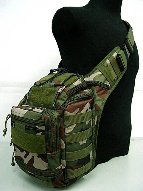Tactical Gear Military Molle Shoulder Bag Army Police Storage Pack
