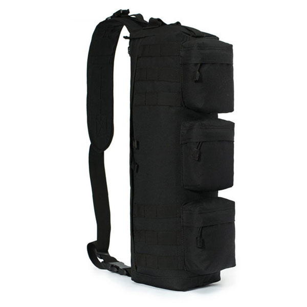 Arms Gear Stealth Black Tactical Assault Grab Molle Shoulder Out Bag