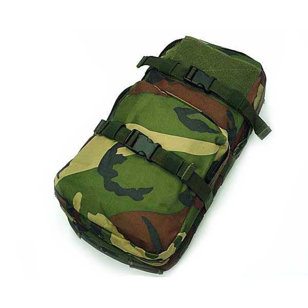 Molle Hydration Water Bags Easy Patch with molle webbing strap camo