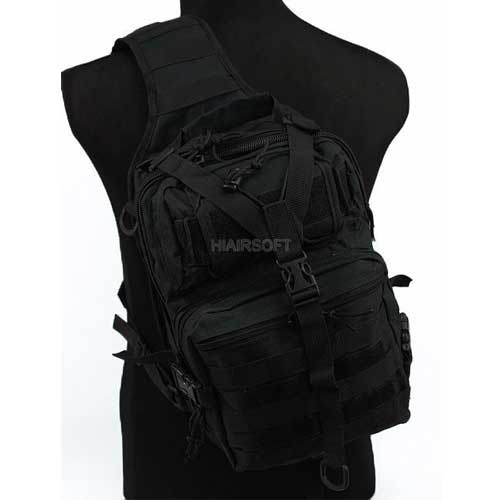 Airsoft Outdoor Large Molle 3Day Assault Tactical Sling Bag Backpack