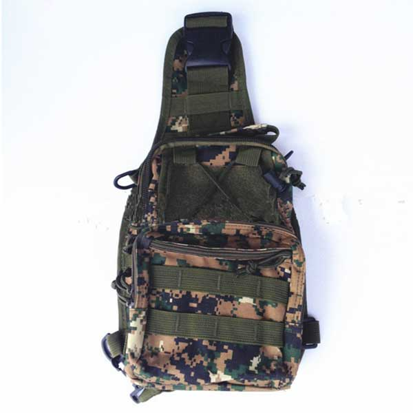 3-Way Single Shoulder Bag Unisex Tactical Waist Pack Body Sling Bags