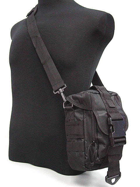 Airsoft Pouch Sport Brand Bag Men Cross Sling Single Shoulder Bag BK