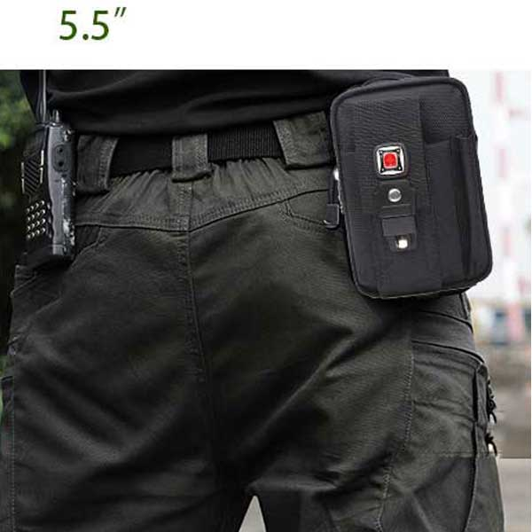 Tactical Waist Pouches Army Fanny Pack Bag Drop Utility Pouch 5.5""