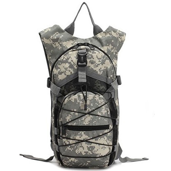 Professional Hydration Pack Tactical Outdoor Water Bag Backpack ACU