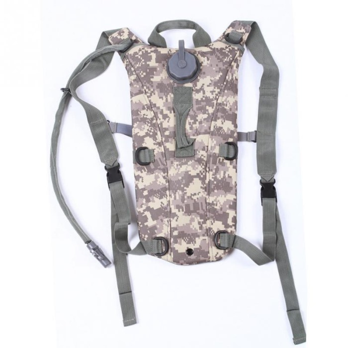 3L TPU Hydration Water Bag Sport Water Proof Hydration Backpack ACU