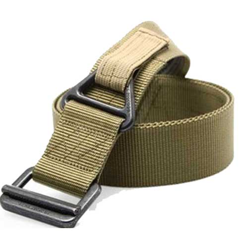 Military Belt BlackHawk Rescue Rappelling Downhill Canvas Belts TAN