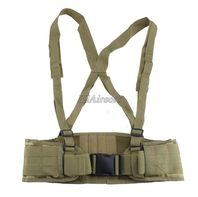 MOLLE Padded Molle Waist Tactical Belt