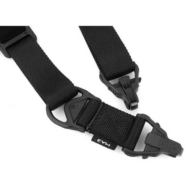 G FMA MA3 Multi-Mission 1&2-Point Quick Action Adjustment Sling BK