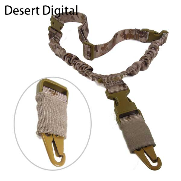 Airsoft Quick Release One Single Point Adjustable Rifle Gun Sling DD