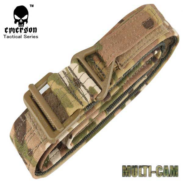 EMERSON CQB Rappel Tactical Belt Airsoft Paintball Outdoor 1000D Mul