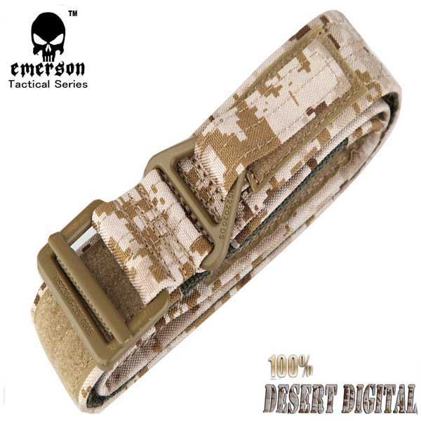 EMERSON CQB Survival Tactical Army Rappelling Belt Metal Buckle DD