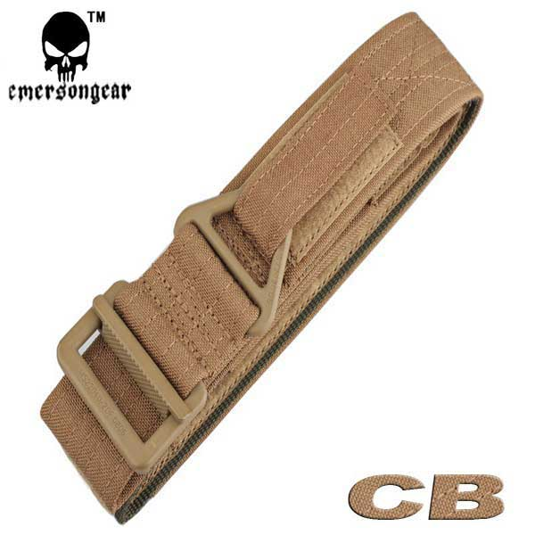 EMERSON CQB Rappel Tactical Belt Hunting Military 1000D Duty Belt DE