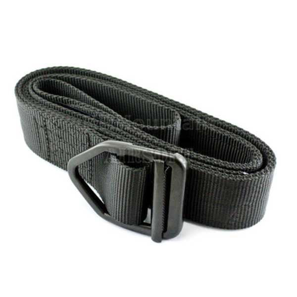 Delta Tactical Military Combat Duty Rescue Rigger Belt Black