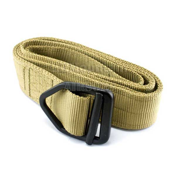 Delta Tactical Exquisite Buckle Material Nylon Combat Duty Belt TAN
