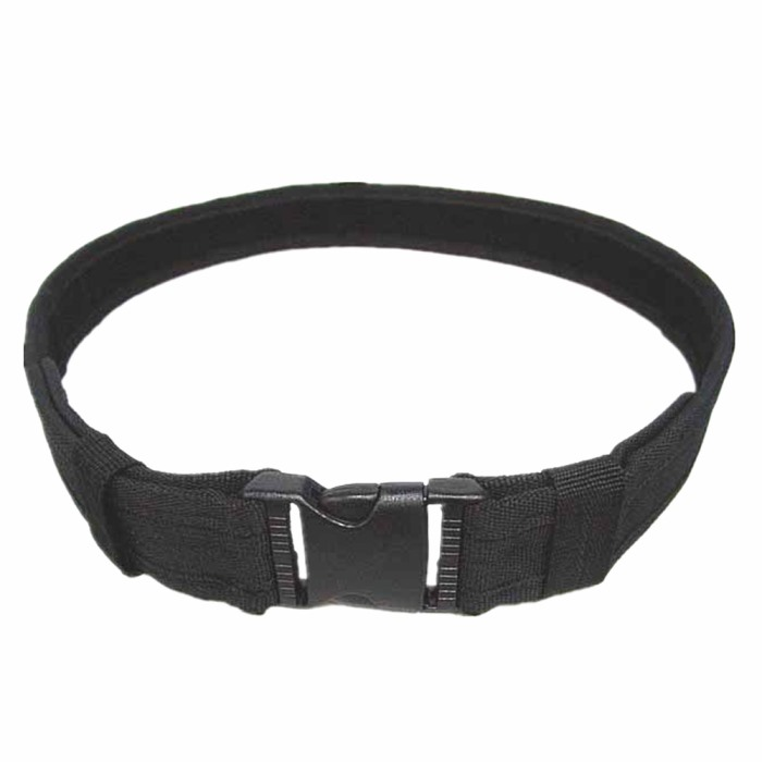 "1.5"" Tactical Load Bearing Combat Duty Belt Nylon Fabric Belt BK"