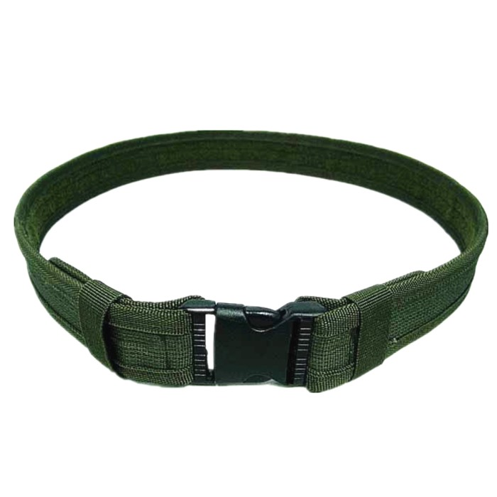 "1.5"" Tactical Combat Load Bearing Nylon Duty Belt Military Belt OD"