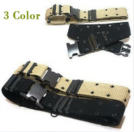 Airsoft Tactical Canvas Belt Durable Camouflage belts