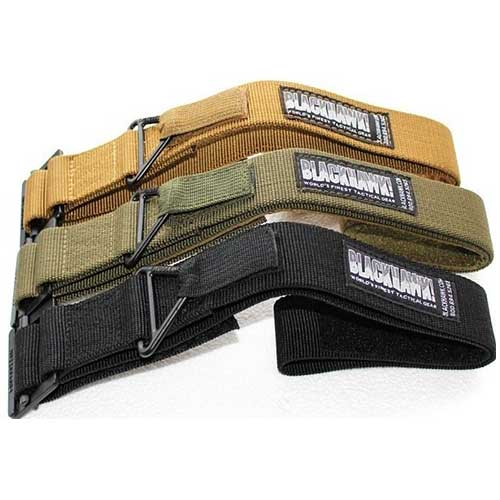 Tactical BlackHawk Rescue Riggers Rappelling Military Belt