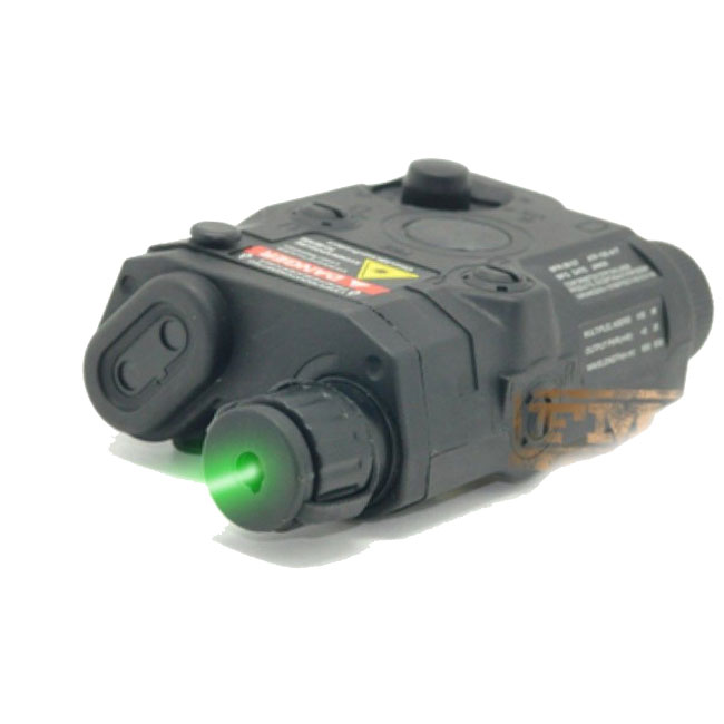 AN-PEQ-15 Battery Model & Green Laser Airsoft Tactical Gear BK