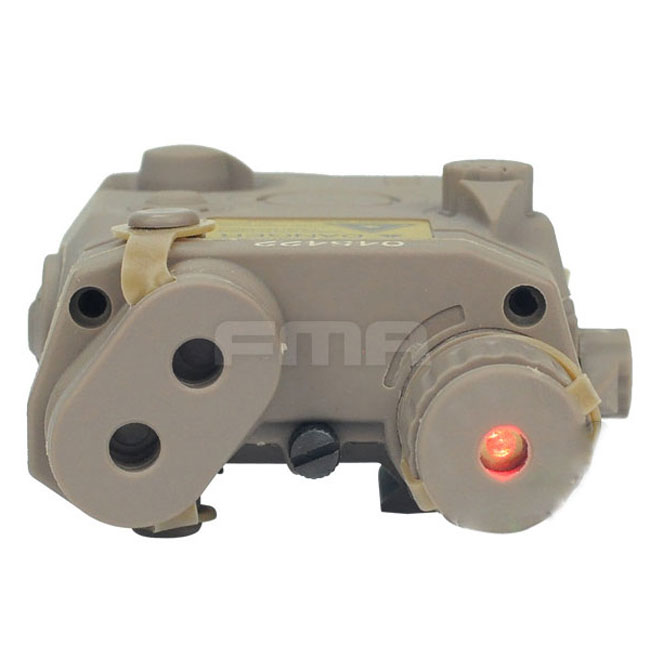 AN/PEQ 15 LA-5 Battery Box Model & Red Laser Airsoft Force DE