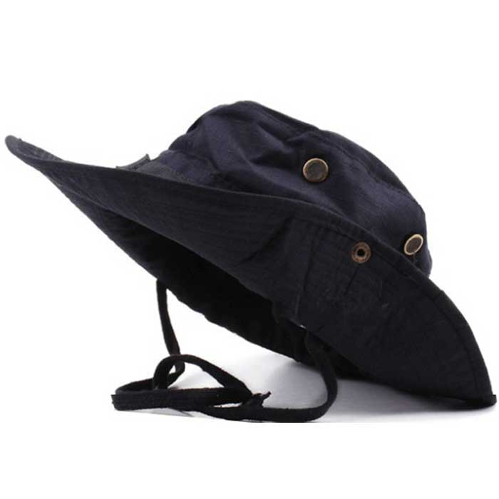 Wide brim boonie cap military hunting fishing cap outdoor for Fishing sun hat