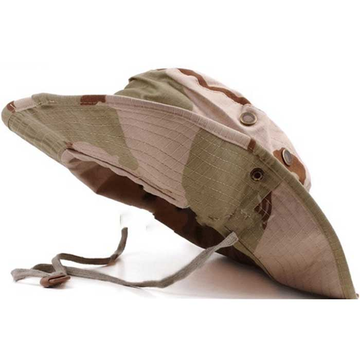 Wide Brim Bucket Hat Military Boonie Cap Hunting Fishing Sun Hat SA