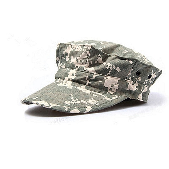 Camouflage Mens Military Octagon Hat Tactical Sun Hat Army Hat ACU