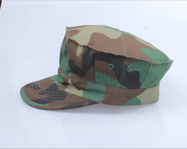 Camouflage Army Military Octagon Hat Tactical Sunhat Mens Cap Jungle